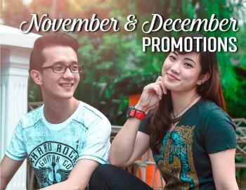 November & December Rock Shop Promotions