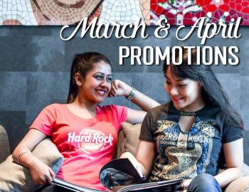 March & April Rock Shop Promotions