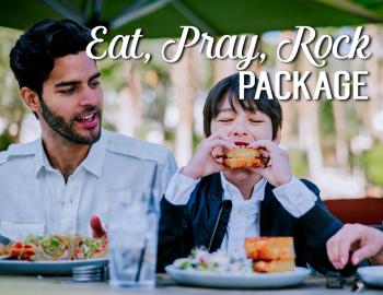 EAT, PRAY, ROCK