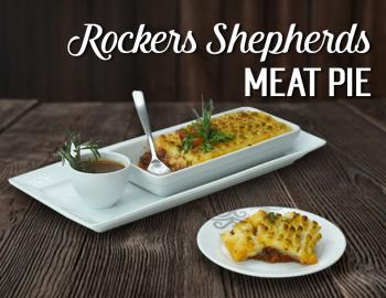 ROCKERS SHEPHERDS MEAT PIE