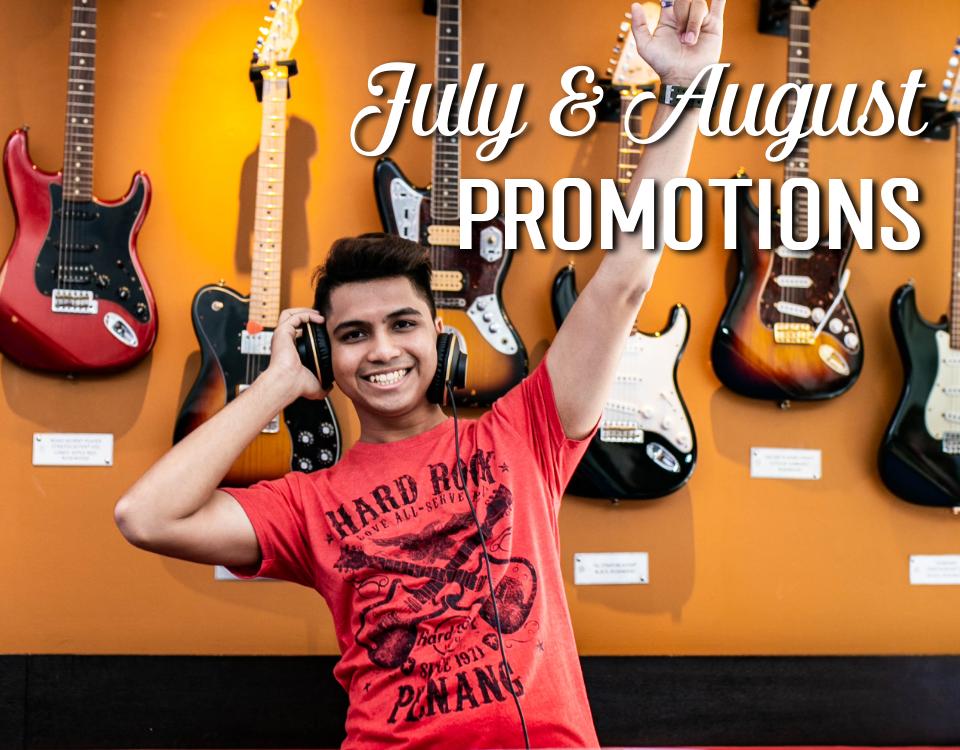 Jul Aug Rock Shop Promotions